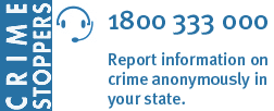 Crime Stoppers - Report Crime Anonymously
